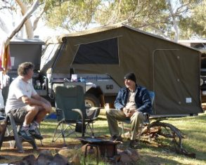 Eureka Camper Trailer - Available To Hire From $100 per day