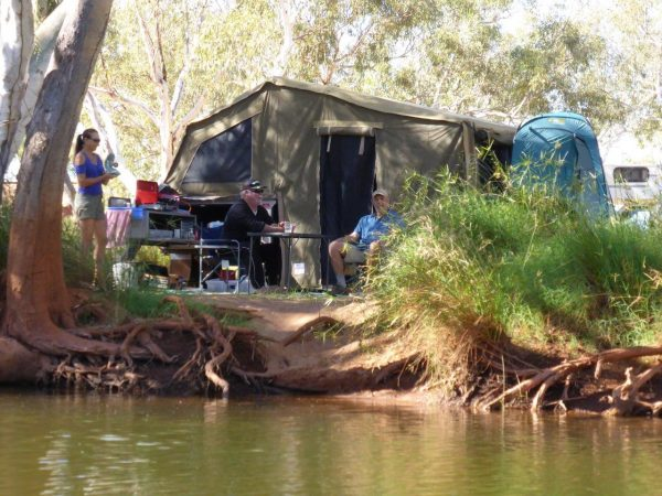 Fortescue Camper Trailer - Available To Hire From $70 per day