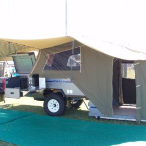 Eureka Hard Floor Off Road Camper Trailer, made in WA