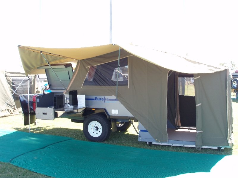 tow hard rear and off mg setup trailers side floor mars awnings extremo easy light camper for road awning to folding trailer