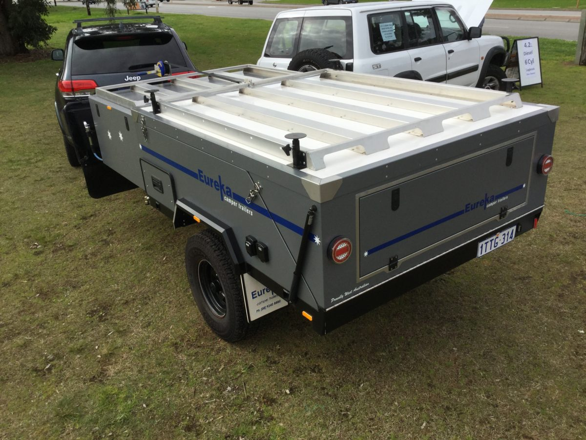 The New series 1 Eureka Offroad Camper Trailer